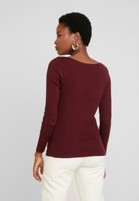 GAP - BOATNECK - Jumper - burgundy - 2
