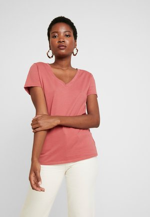 T-shirt basic - terra cotta