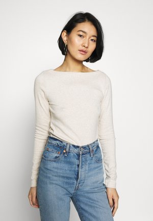 BOAT - Long sleeved top - oatmeal heather