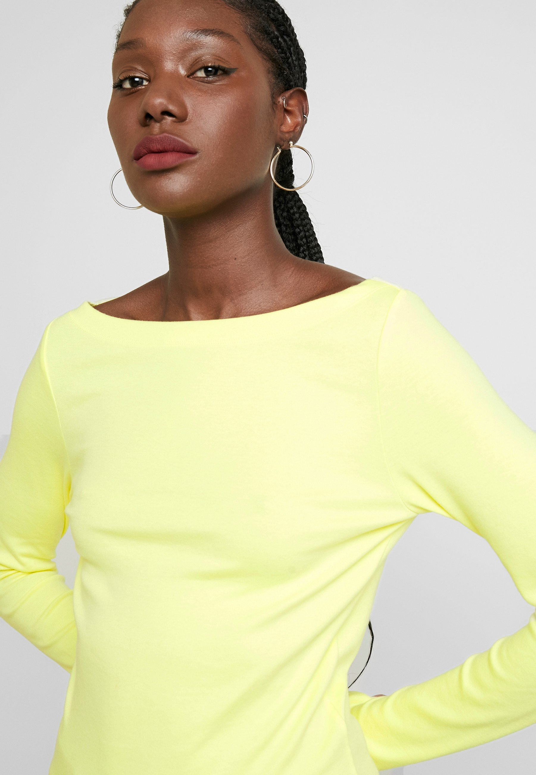 GAP BOAT - Topper langermet - fresh yellow
