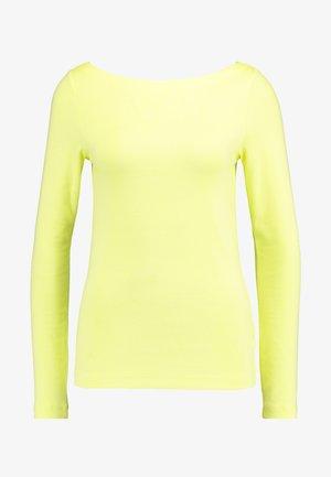 BOAT - Camiseta de manga larga - fresh yellow