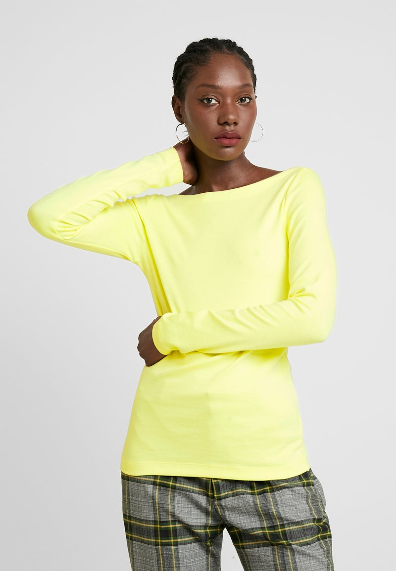 GAP - BOAT - Long sleeved top - fresh yellow