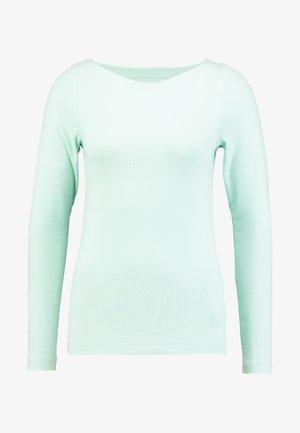 BOAT - Maglietta a manica lunga - crystal mint