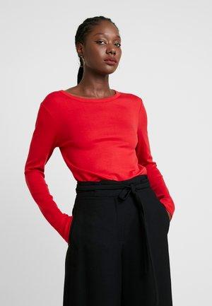 CREW - Top sdlouhým rukávem - modern red