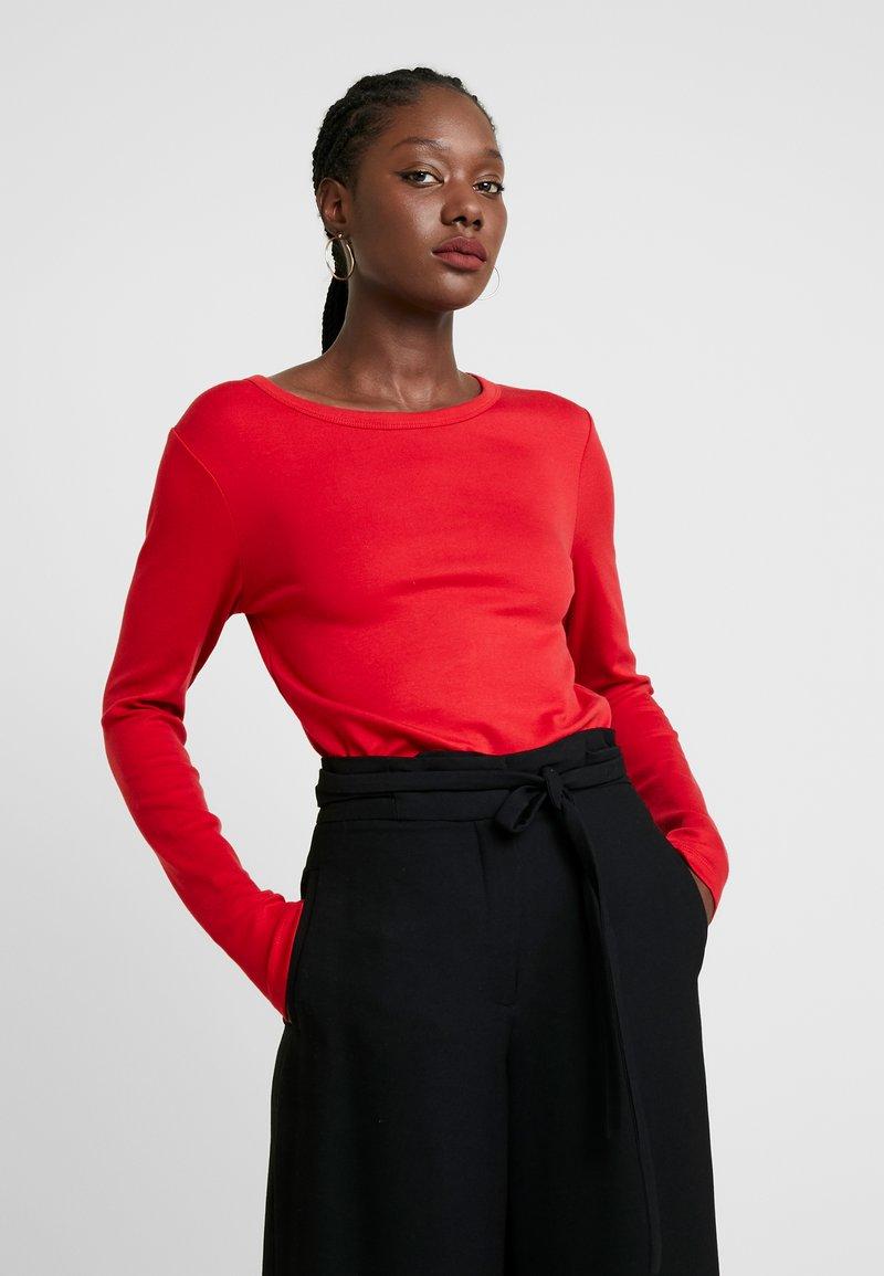 GAP - CREW - Top sdlouhým rukávem - modern red