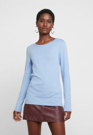 CREW - Langærmede T-shirts - blue opal
