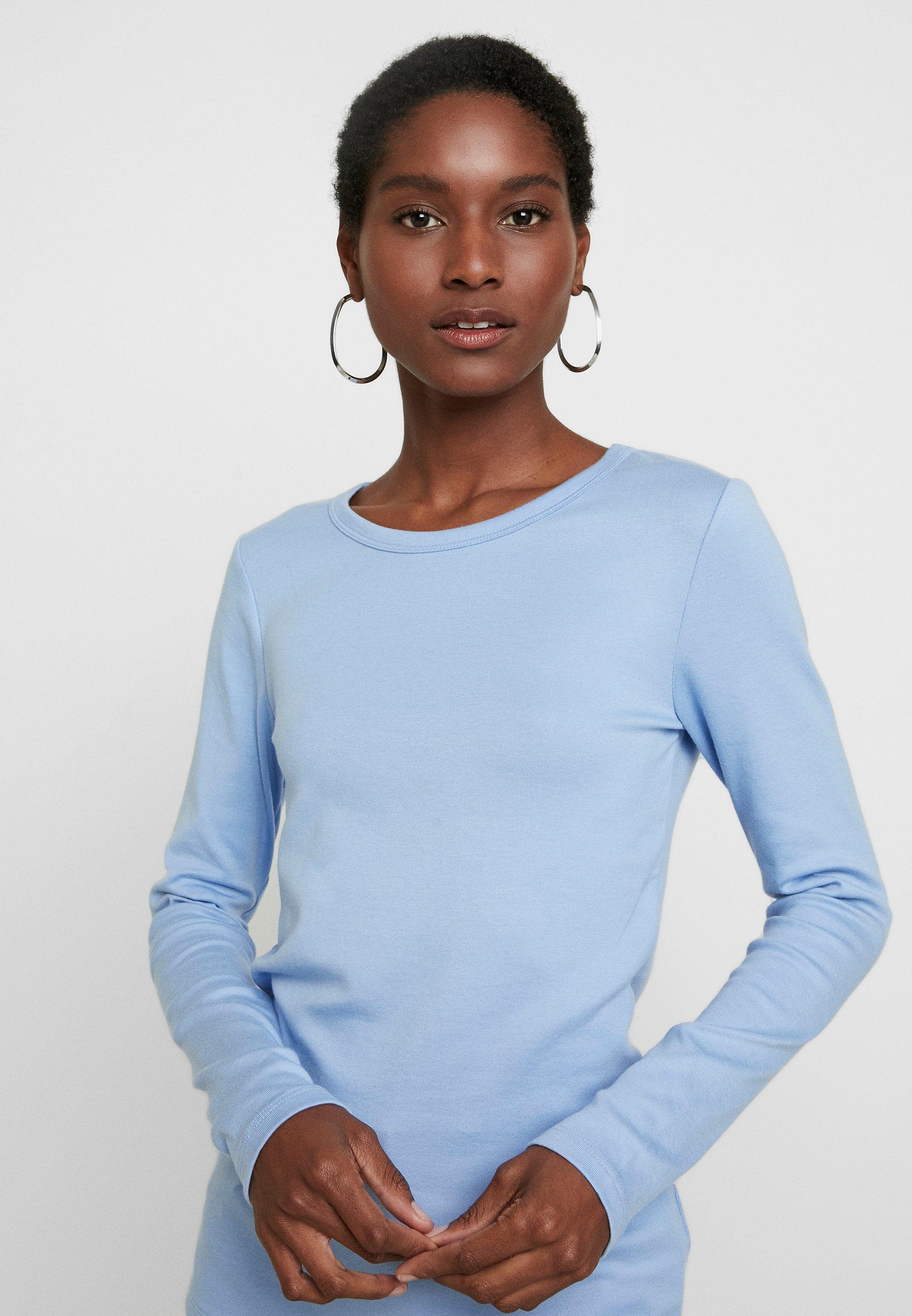 GAP CREW - T-shirt à manches longues - blue opal blue opal