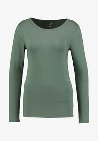 GAP - CREW - Long sleeved top - cool olive - 3