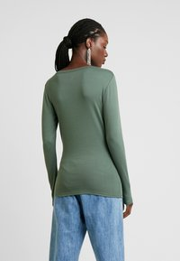 GAP - CREW - Long sleeved top - cool olive - 2