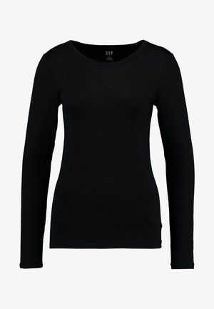 CREW - Long sleeved top - true black