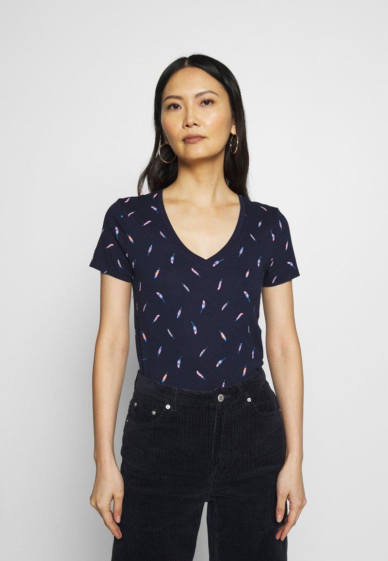 GAP - T-shirts med print - dark blue