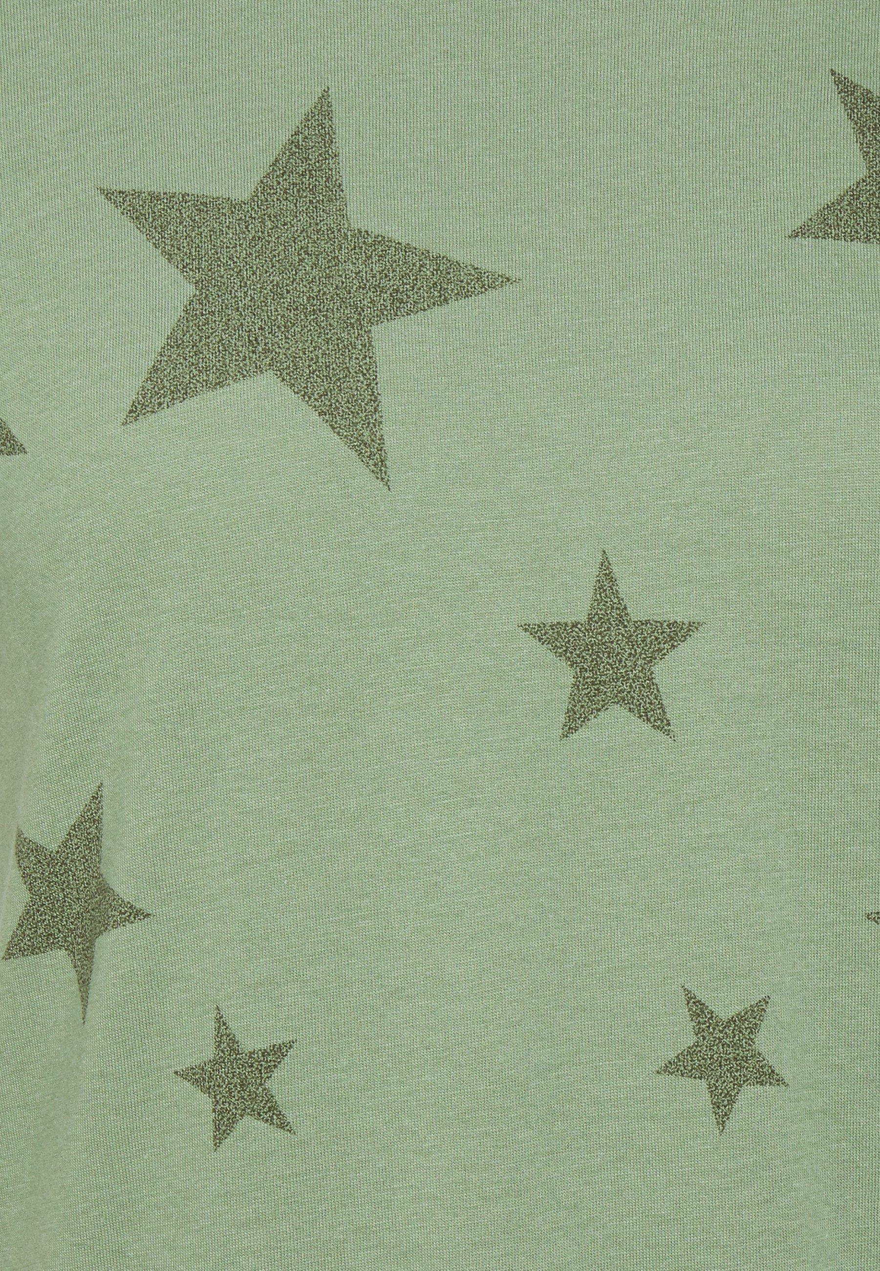 FAV CREW T Shirt print olive