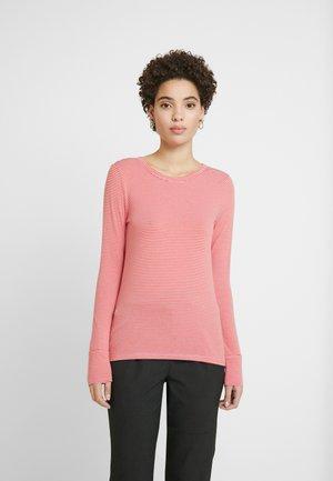 Long sleeved top - summer pink