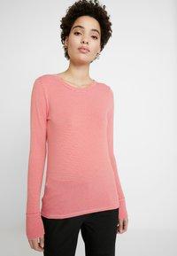 GAP - Topper langermet - summer pink - 3