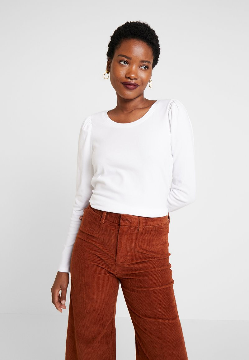 GAP - Long sleeved top - white