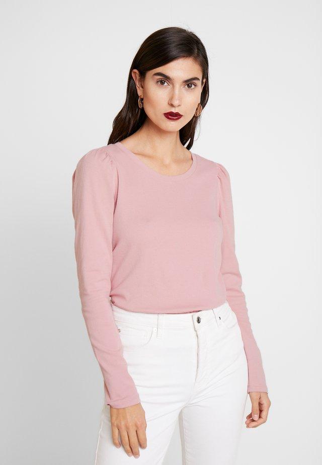 Langærmede T-shirts - cavan rose
