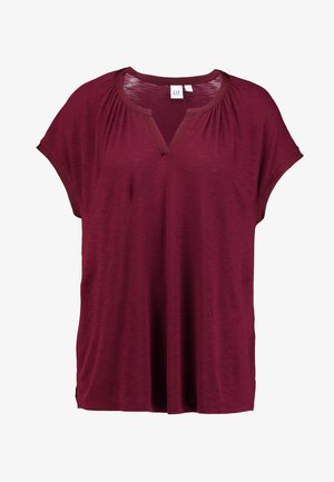 NOTCH - T-shirt imprimé - burgundy