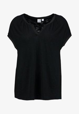 NOTCH - T-shirts med print - true black