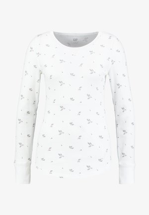 WAFFLE TEE - T-shirt à manches longues - milk
