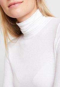 GAP - NECK - Long sleeved top - white - 5