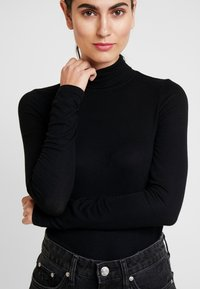 GAP - NECK - Longsleeve - true black - 4