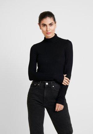 NECK - Maglietta a manica lunga - true black