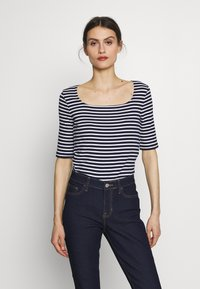 GAP - T-shirts med print - navy - 0