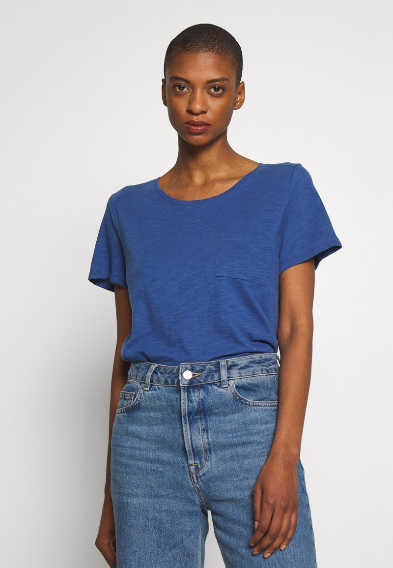 GAP - EASY SCOOP - Jednoduché triko - chrome blue