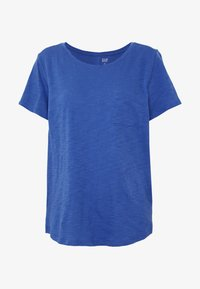 GAP - EASY SCOOP - Jednoduché triko - chrome blue - 4