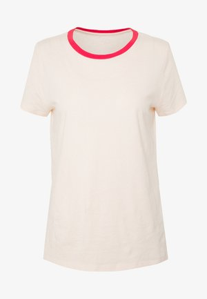 VINT CREW - T-shirt basic - red/peach