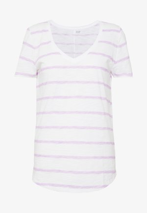 EASY - T-shirts med print - pink brushed
