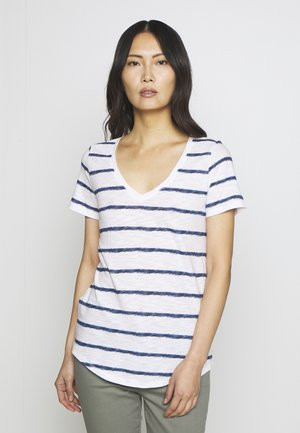 EASY - T-shirts med print - navy