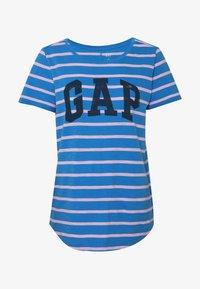 GAP - EASY SCOOP - T-shirt z nadrukiem - blue/pink - 4
