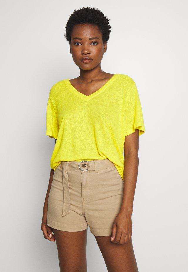 TEE - T-shirt basique - raft yellow