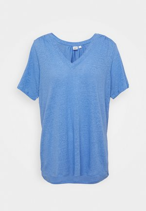 TEE - T-shirts - moore blue