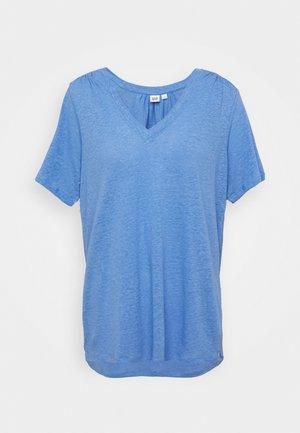 TEE - T-shirt basique - moore blue