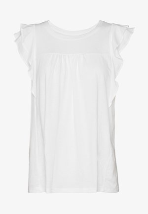 LUXE - T-shirts med print - white