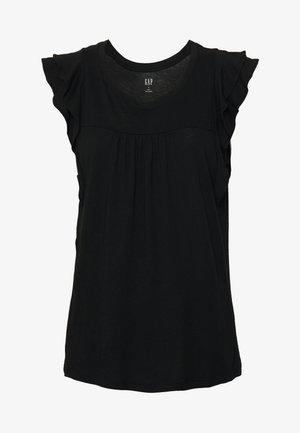 LUXE - Print T-shirt - true black