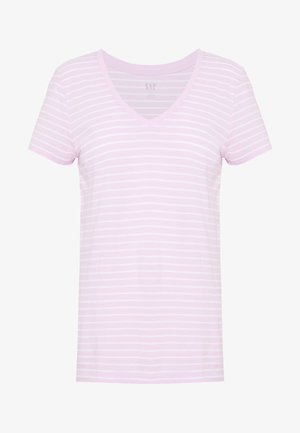 T-shirts med print - rose