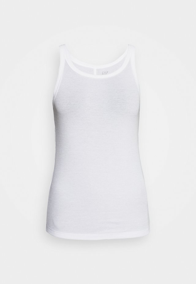 HALTER - Top - white