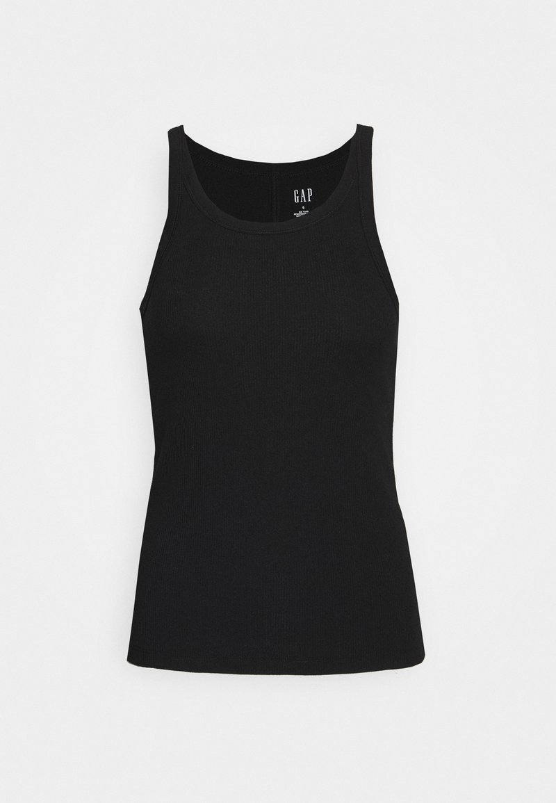 GAP - HALTER - Top - true black