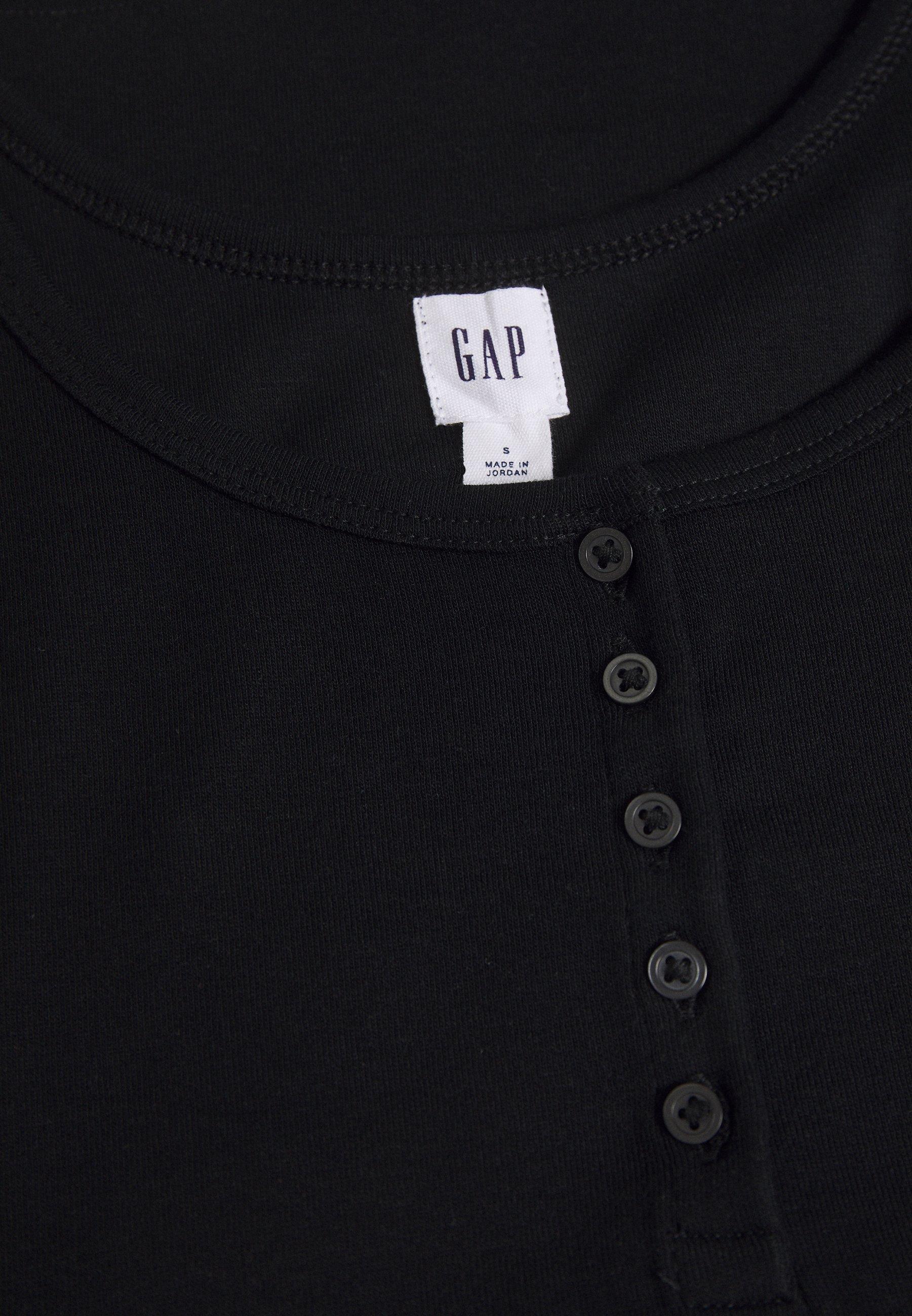 veste femme sans anche gap true black