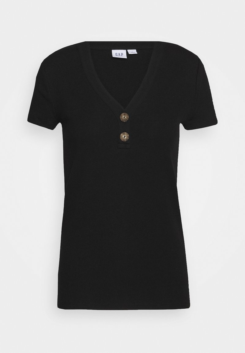 GAP - Basic T-shirt - true black