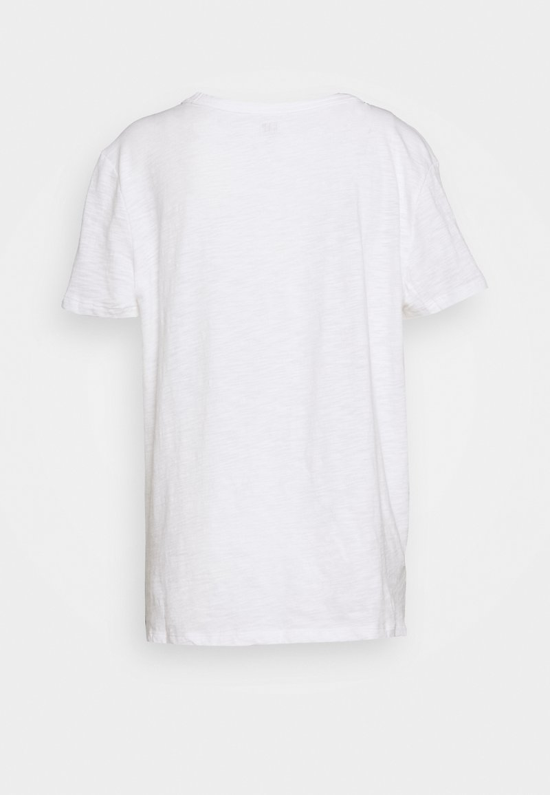 GAP EASY TEE LOGO - T-shirts med print - white