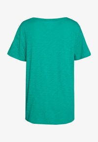 GAP - EASY TEE LOGO - T-shirt con stampa - dynasty green - 1