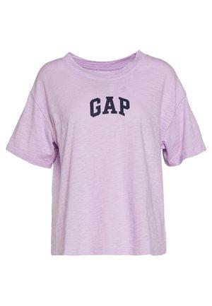 EASY BOXY CREW - T-shirt con stampa - nostalgic lavender