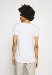 GAP - CREW 2 PACK - T-shirt basic - true black