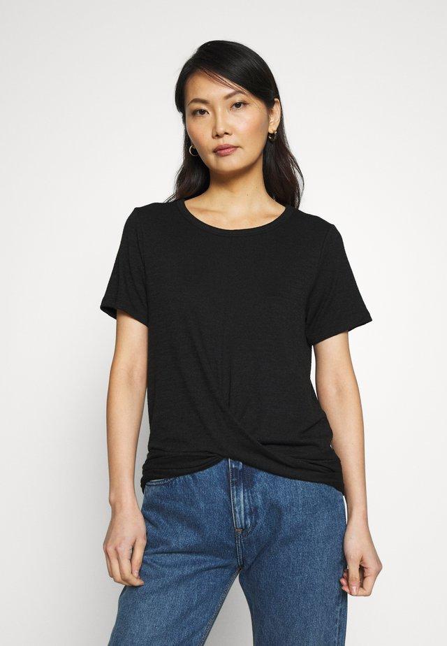 T-shirt basique - true black