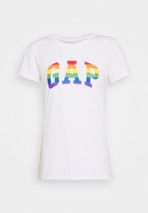 TEE - Camiseta estampada - white/multicolor