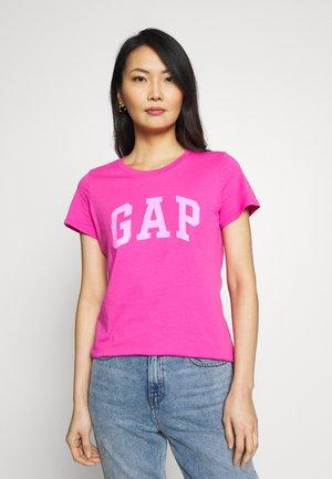TEE - Print T-shirt - standout pink
